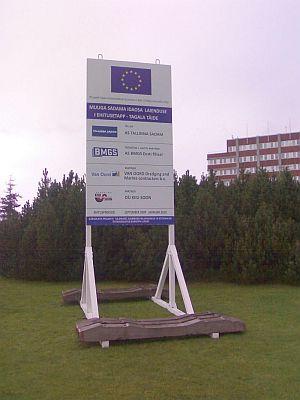 Euroopa Liidu toetusega infotahvel